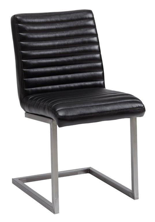 Bernilla tuoli PU musta
