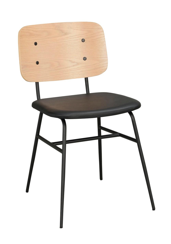 Brent tuoli valkopesty/musta, Rowico