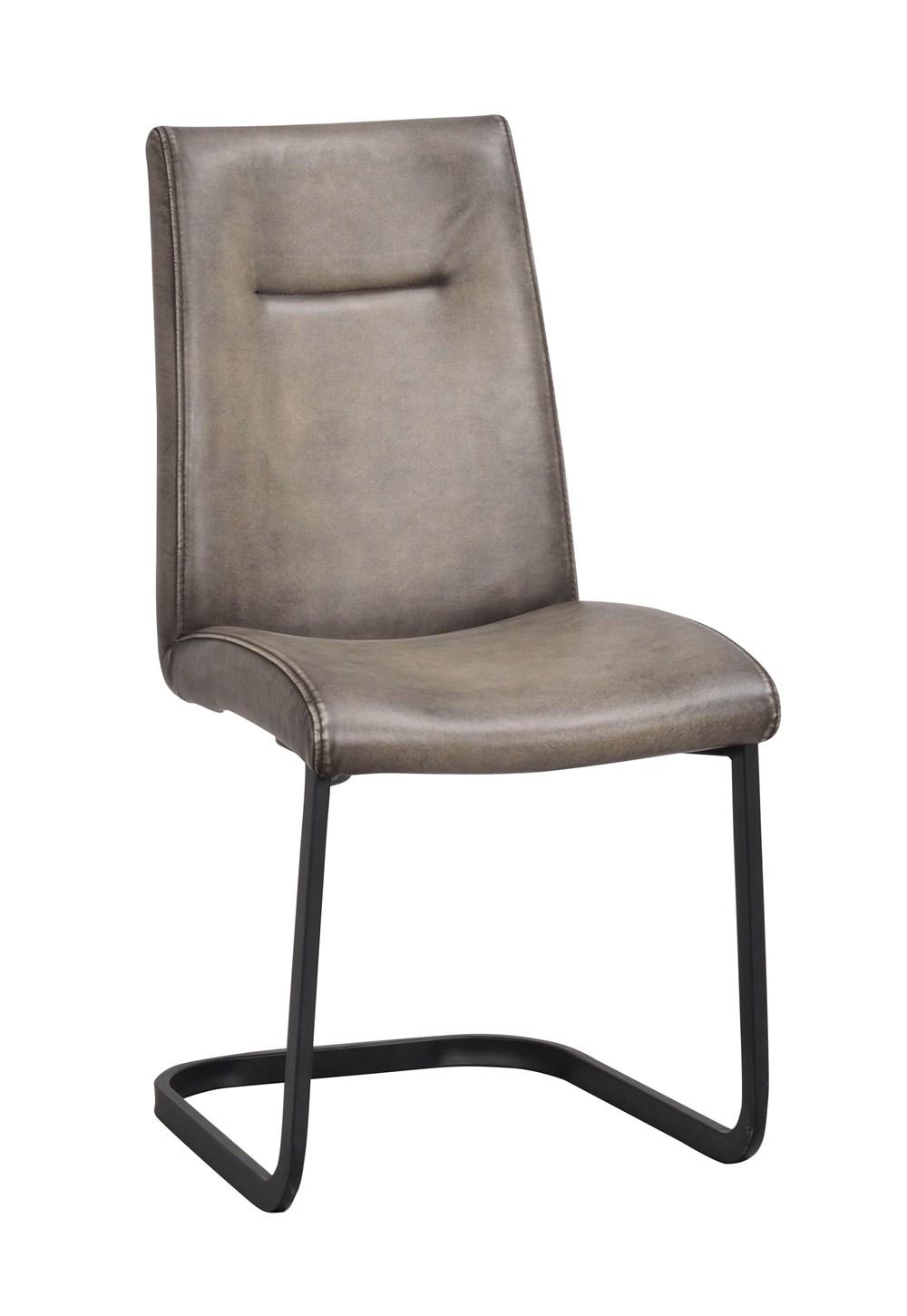 Elton tuoli harmaa/musta, Rowico