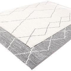 Sherpa matto 133 x 195 valkoinen
