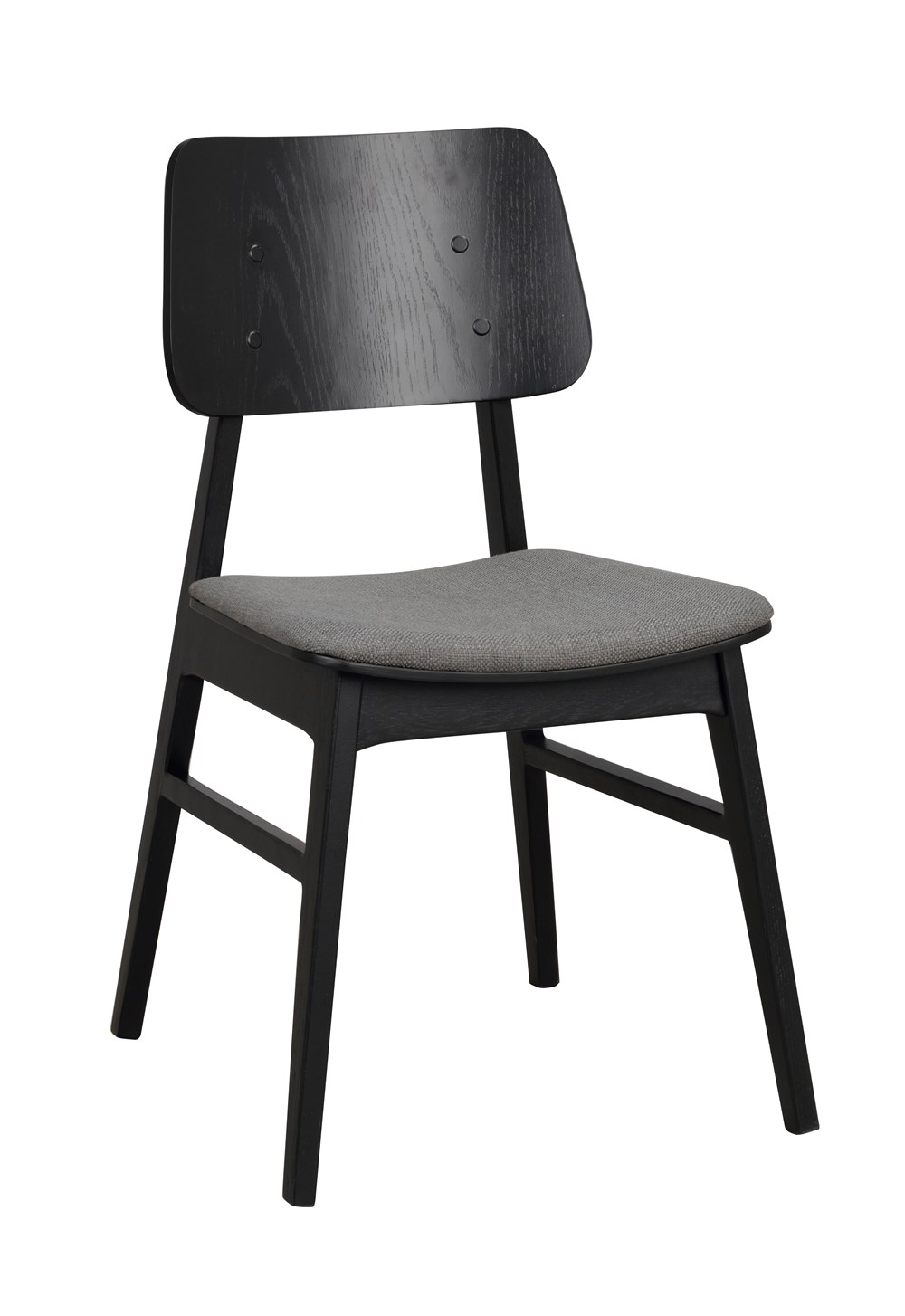 Nagano tuoli musta/tummanharmaa, Rowico