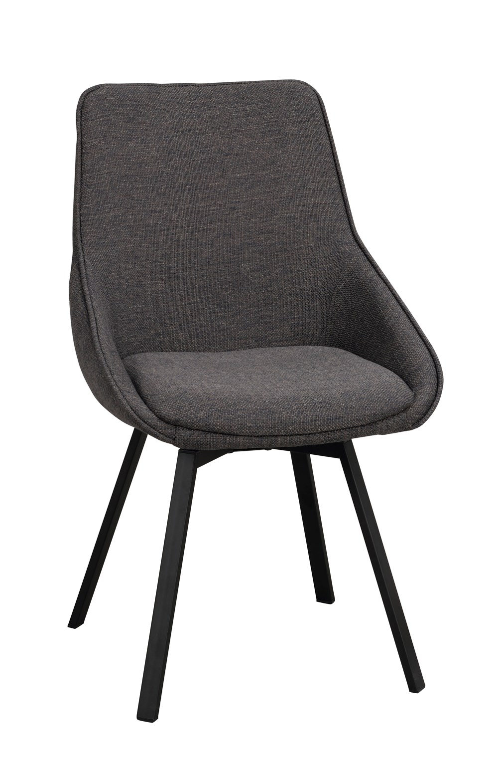 Alison tuoli harmaa/musta, Rowico