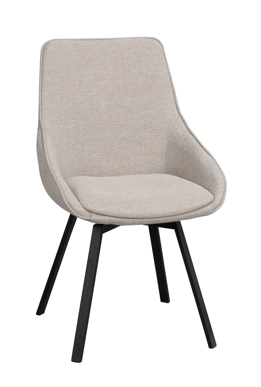 Alison tuoli beige/musta, Rowico