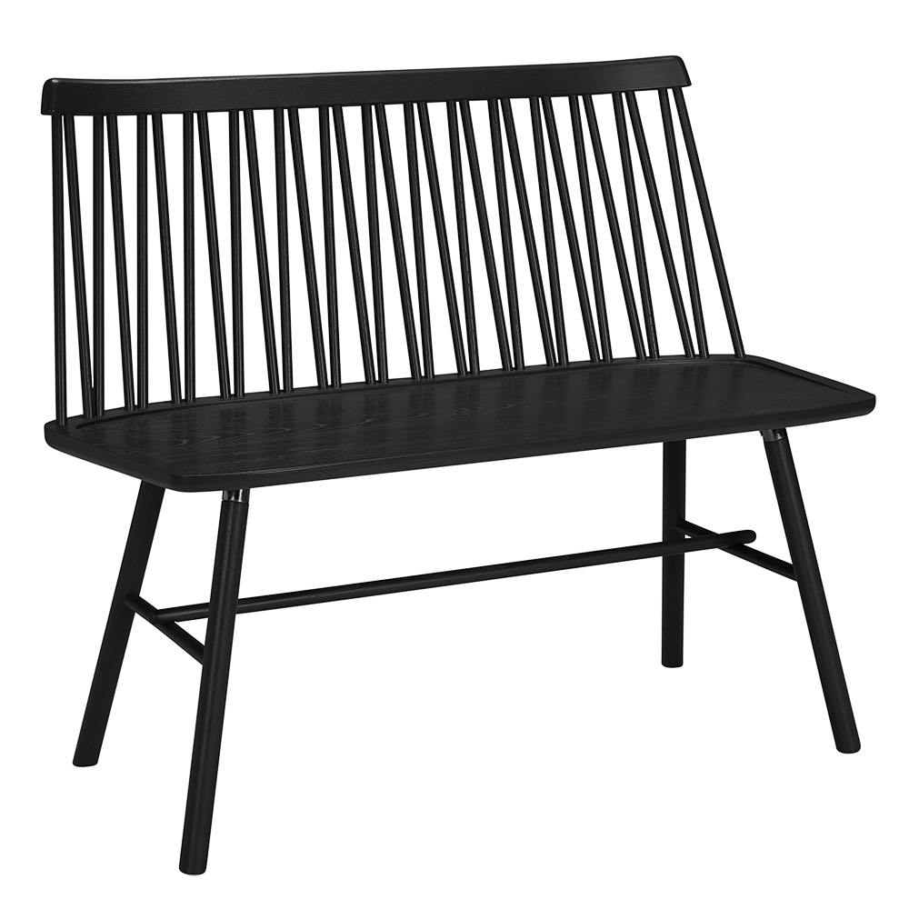 ZigZag sohva musta