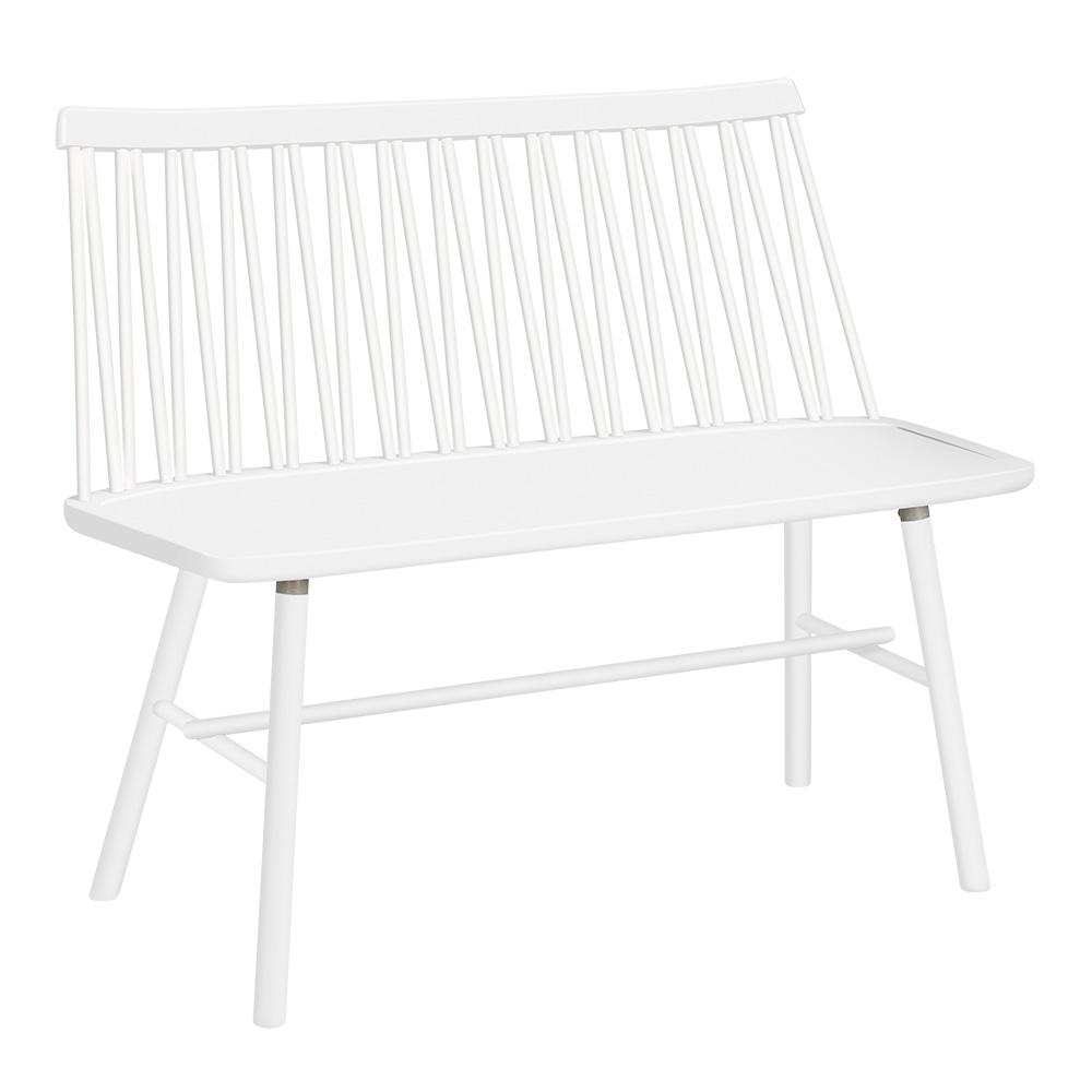 ZigZag sohva valkoinen