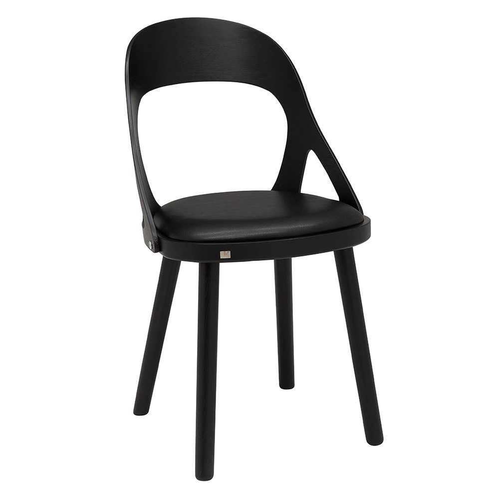 Colibri tuoli musta tammi, bonded musta, Design Markus Johansson