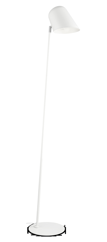 Jade lattiavalaisin, valkoinen