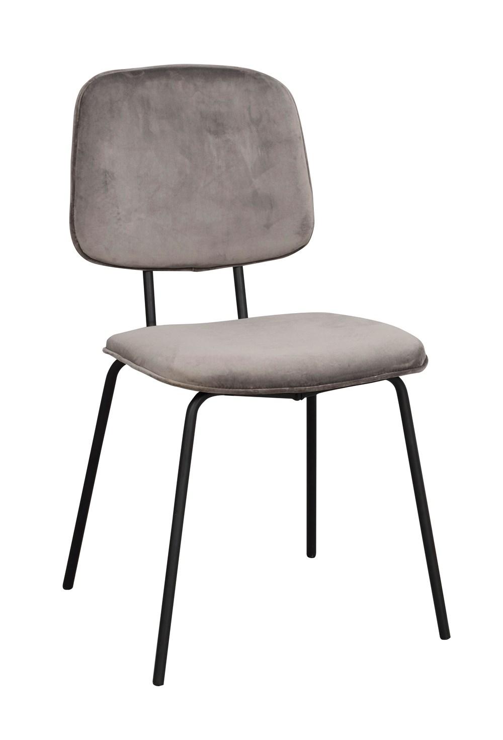 Baldwin tuoli harmaa/musta, Rowico