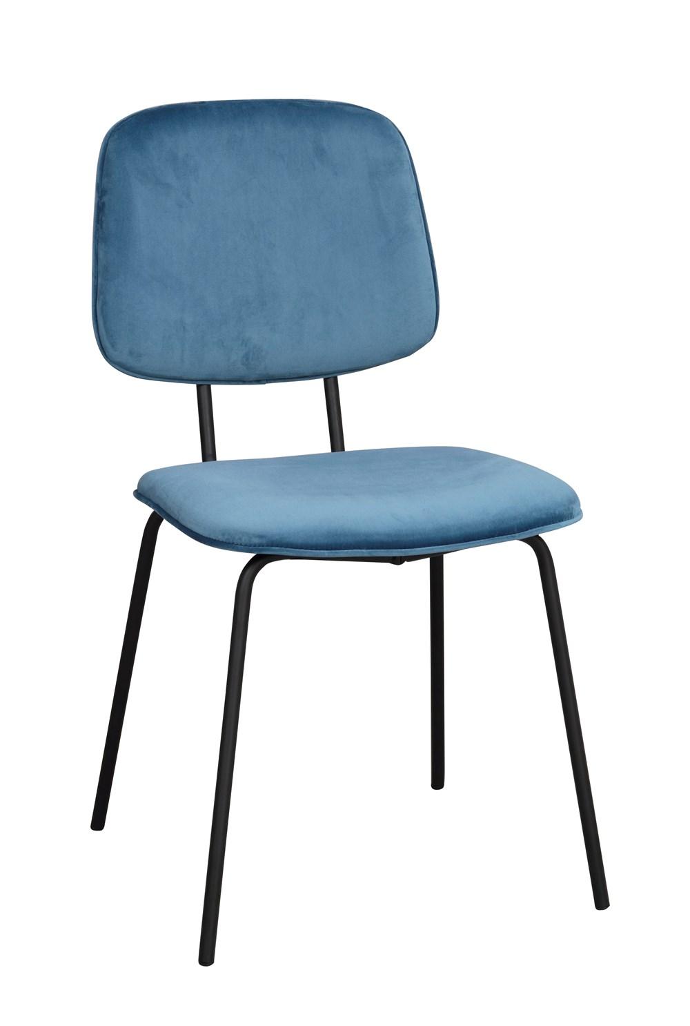 Baldwin tuoli sininen/musta, Rowico