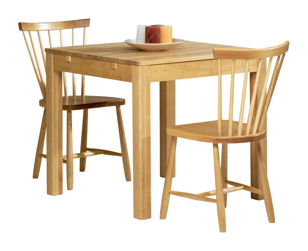 Emilia pöytä 80x80 lv koivu