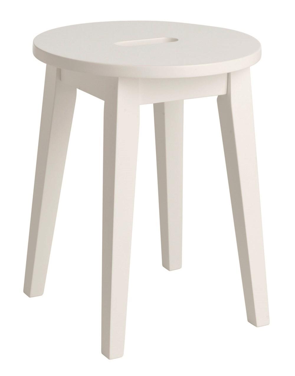 Confetti jakkara valkoinen, Rowico