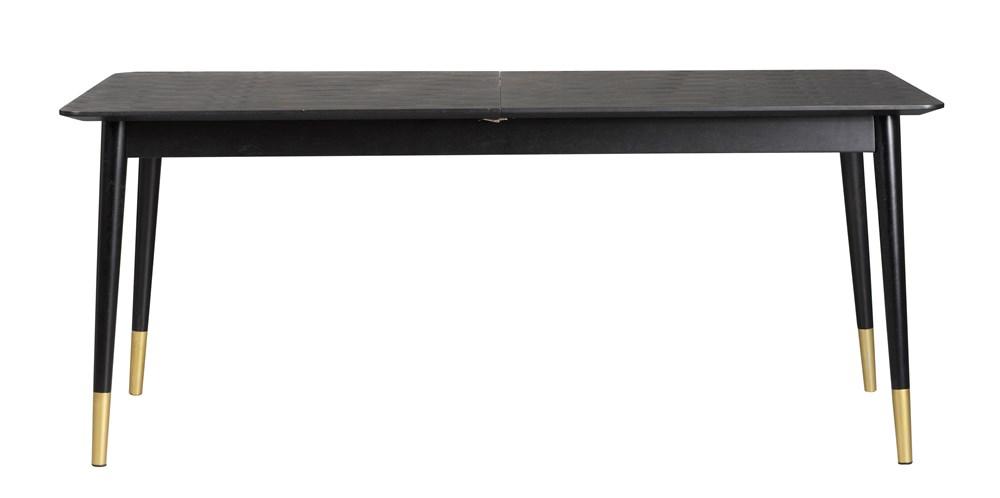 Fenwood jatkettava ruokapöytä 180/220/260 musta, Rowico