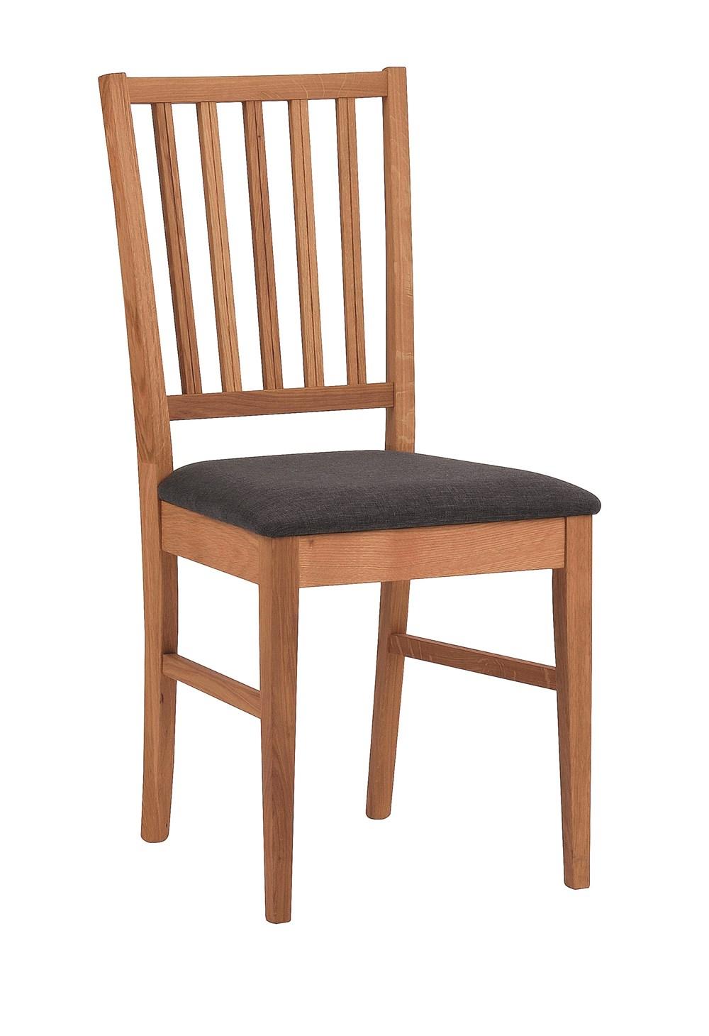 Filippa tuoli öljytty tammi/harmaa kangas, Rowico