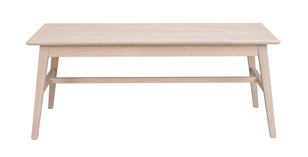 Filippa sohvapöytä 130x70 valkolakattu tammi, Rowico