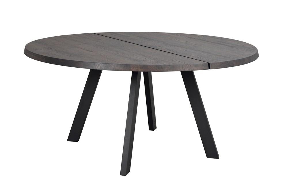 Fred pöytä pyöreä Ø160 tummanruskea tammi, Rowico