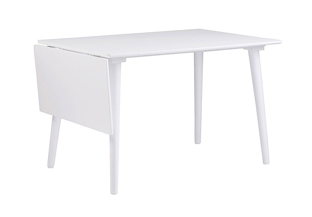 Lotta klaffipöytä 120+40 valkoinen, Rowico