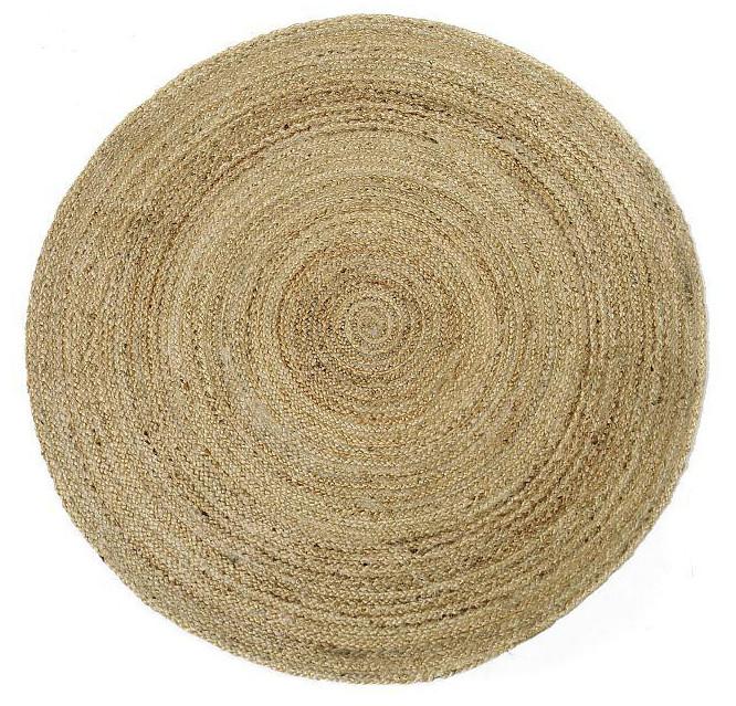 Silmu matto 133 cm pyöreä, natural