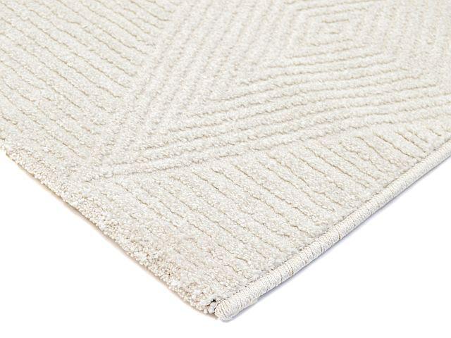 Felicia matto 133 x 195 luonnonvalkoinen