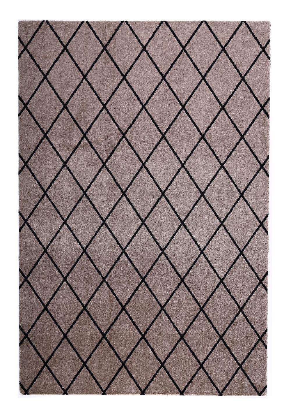 VM Carpet Salmiakki matto 06 beige-black