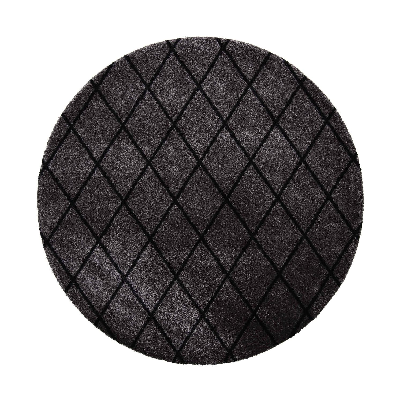 VM Carpet pyöreä Salmiakki matto 26 grey-black