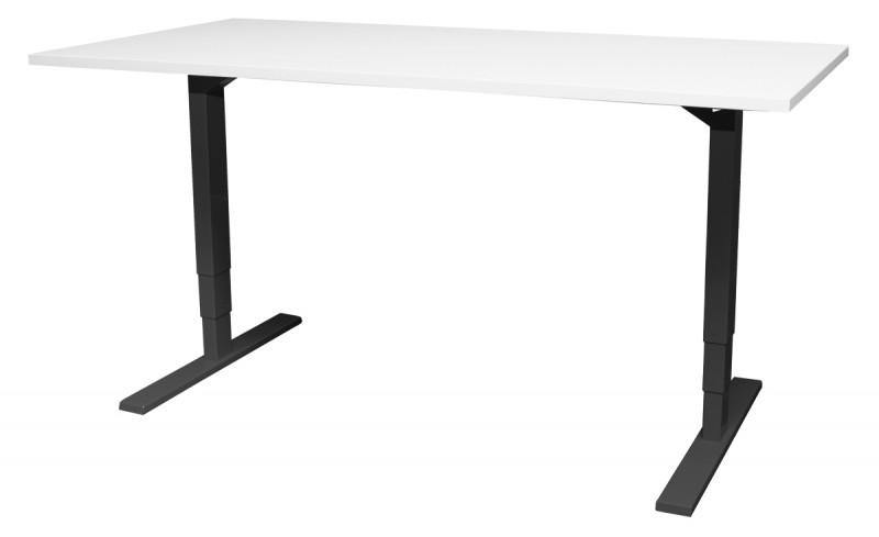Essi sähköpöytä valkoinen/musta, eri kokoja