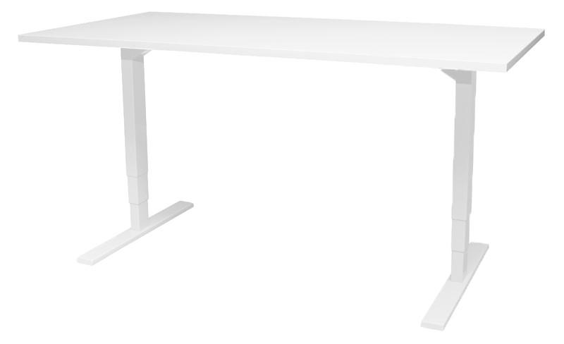 Essi sähköpöytä valkoinen/valkoinen, eri kokoja