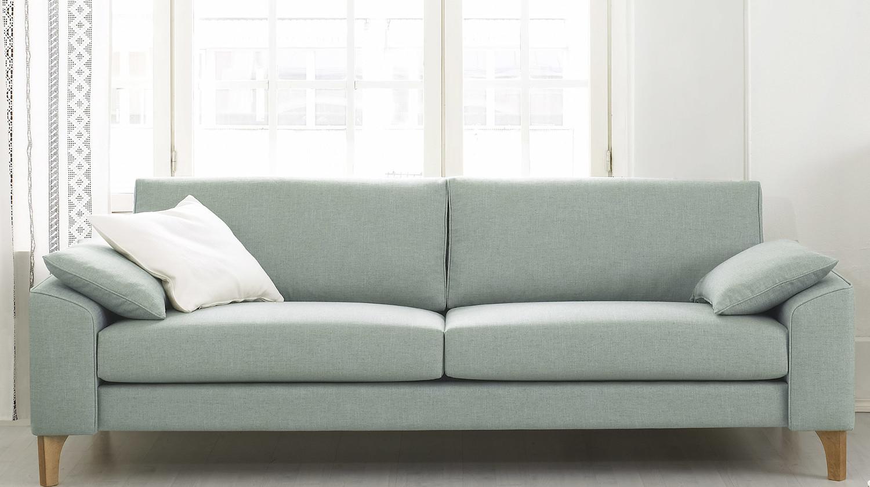 Nest 231/2 sohva Nino tai Resto kankaalla, Shapes
