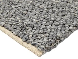 Kaleo matto 160x230cm tummanharmaa