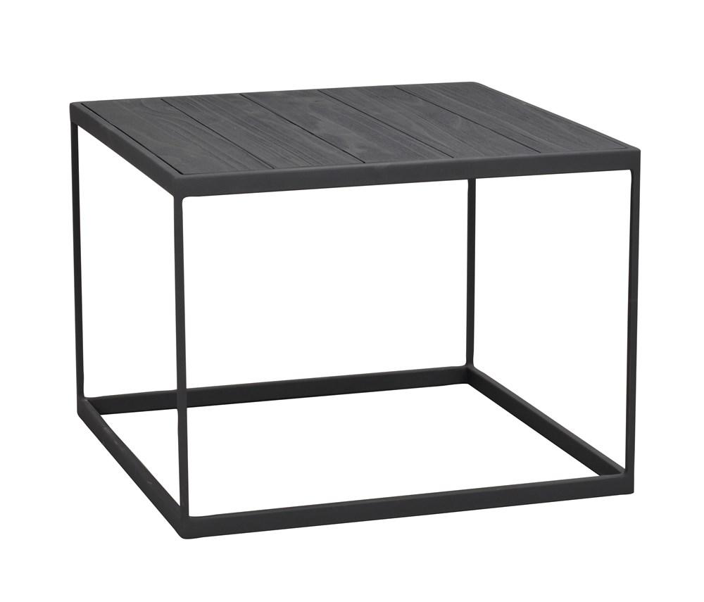 Franky sohvapöytä 60x60 musta/musta metalli, Rowico