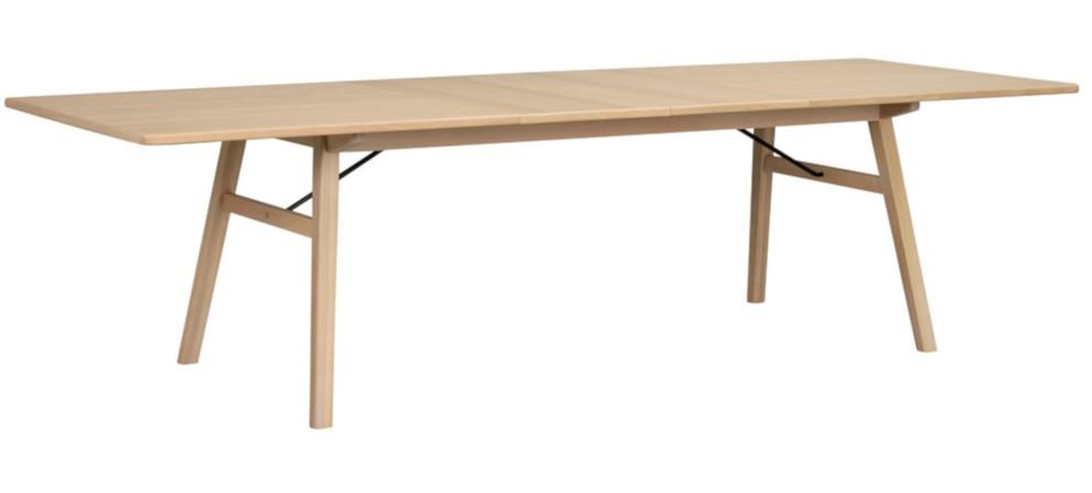 Graham pöytä 200x100 valkolakattu tammi
