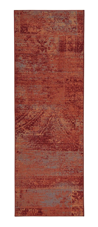 VM Carpet Rustiikki käytävämatto, 14 punainen