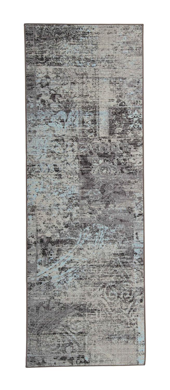 VM Carpet Rustiikki käytävämatto, 32 turkoosi