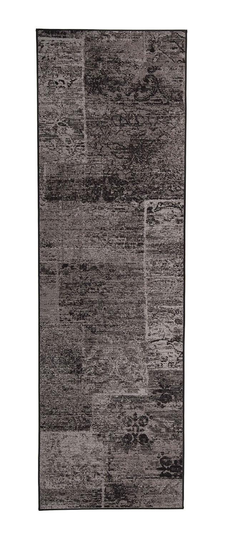 VM Carpet Rustiikki käytävämatto, 98 musta