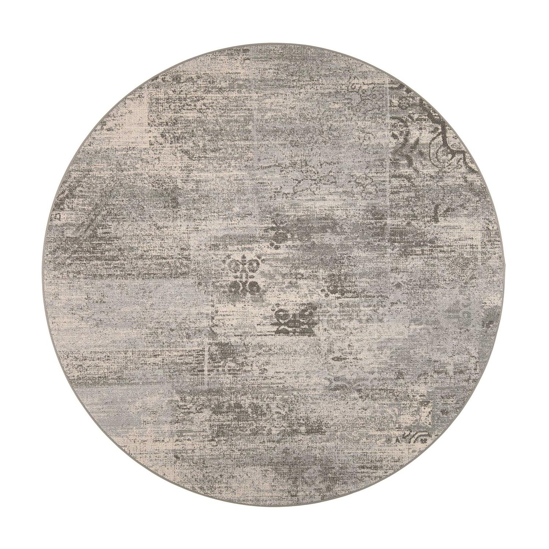VM Carpet pyöreä Rustiikki matto, 39 harmaa