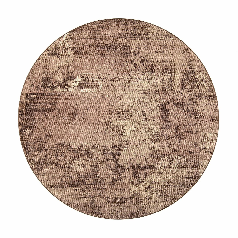 VM Carpet pyöreä Rustiikki matto, 43 beige