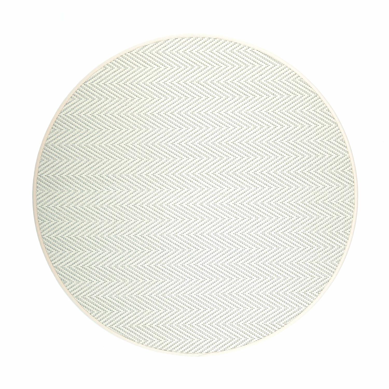 VM Carpet pyöreä Elsa matto, 71 valkoinen