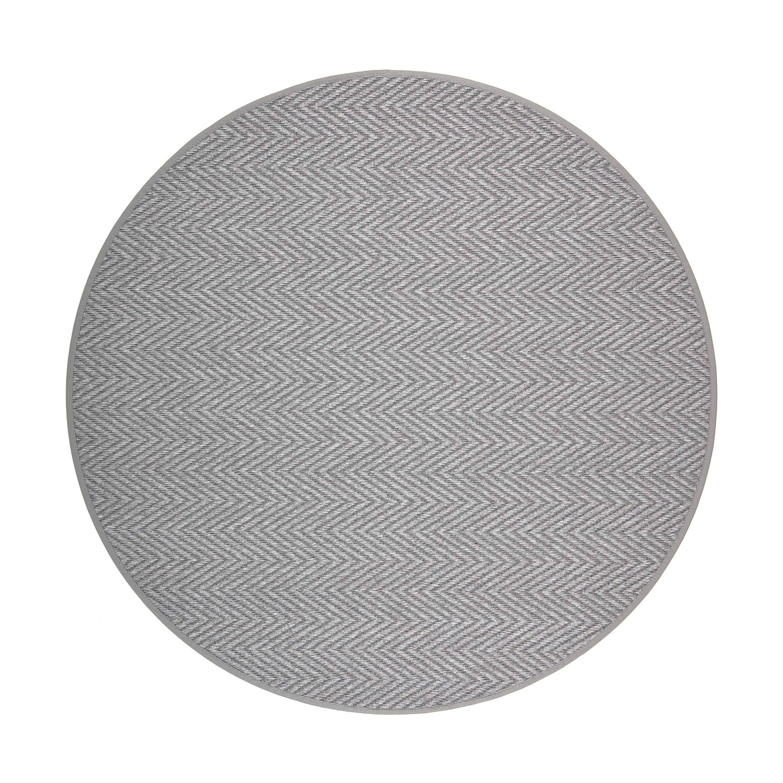 VM Carpet pyöreä Elsa matto, 77 harmaa