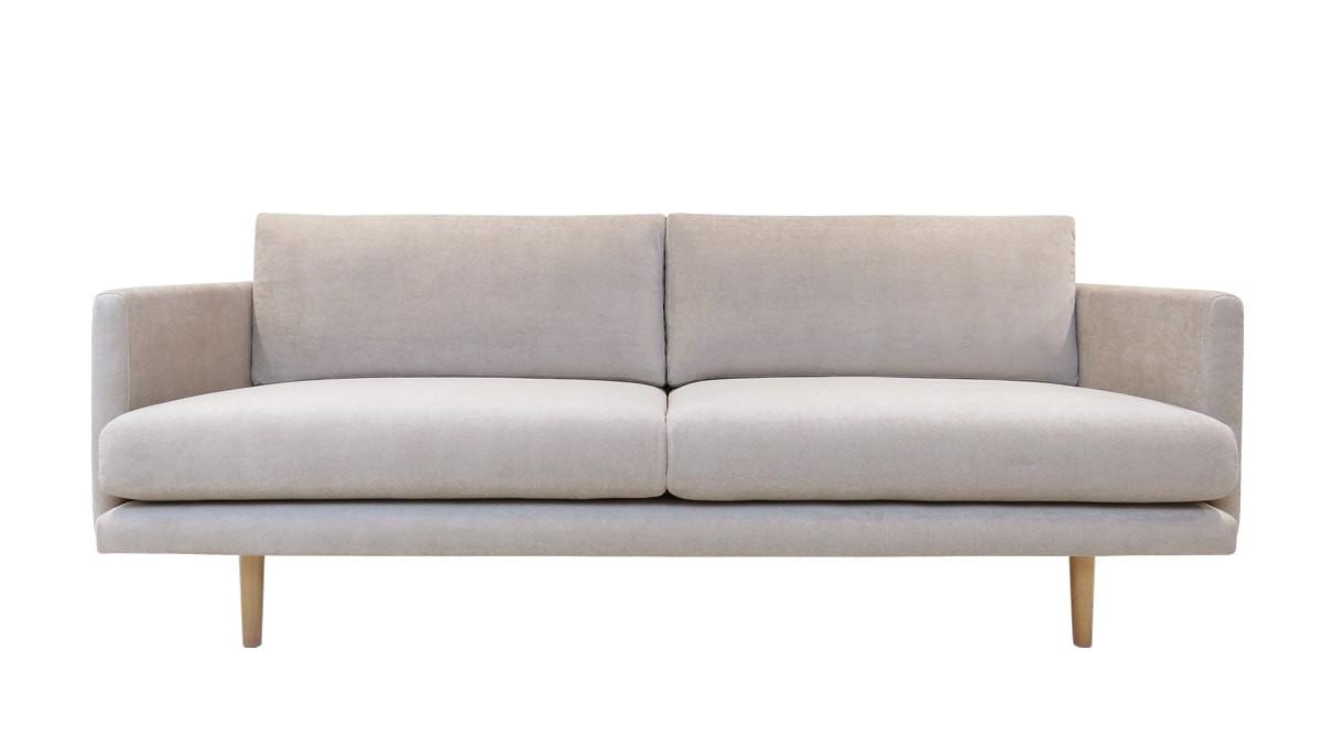 Kanerva 3 istuttava sohva (200) Velvety kankaalla