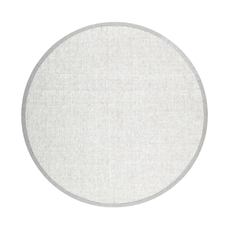 VM Carpet pyöreä Esmeralda matto 71 valkoinen