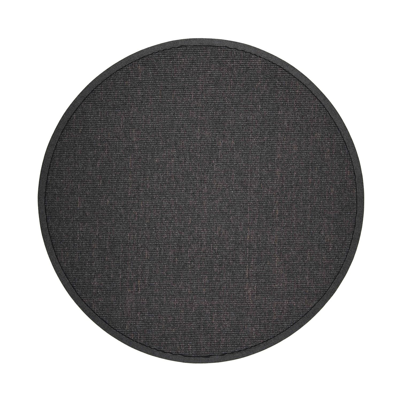 VM Carpet pyöreä Esmeralda matto 79 musta