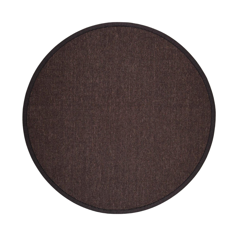 VM Carpet pyöreä Esmeralda matto 90 ruskea