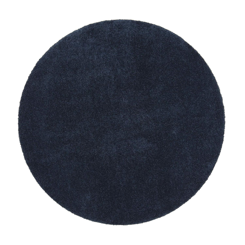 VM Carpet pyöreä Silkkitie matto, 77 tummansininen