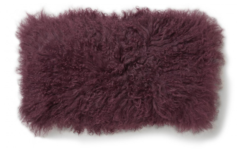 Shansi tyynynpäällinen 25x50 cm burgundy