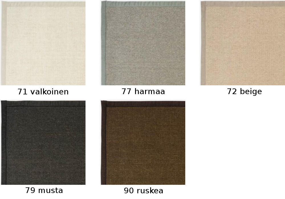 Esmeralda matto 80 x 200 cm