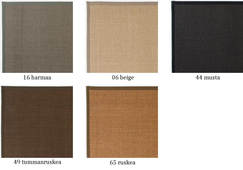 Sisal matto 133 x 200 cm