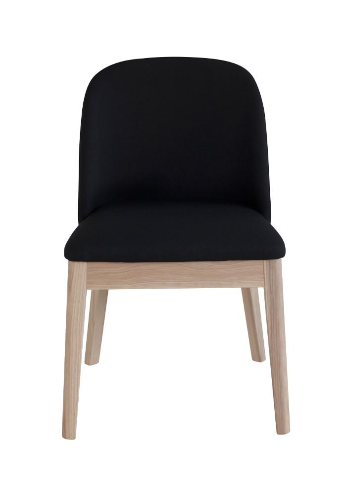 Saarni tuoli luonnonväri/musta