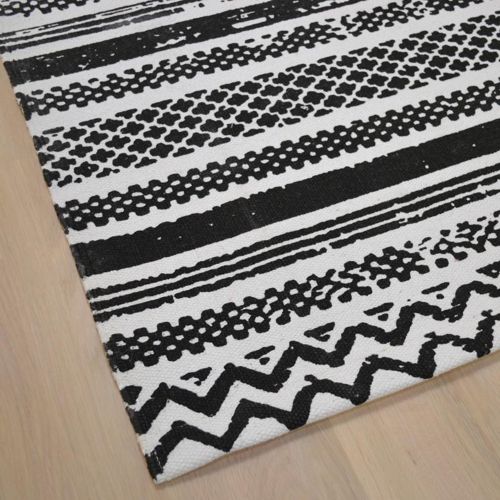 Maya matto 80 x 200 mustavalkoinen VIIMEINEN KAPPALE