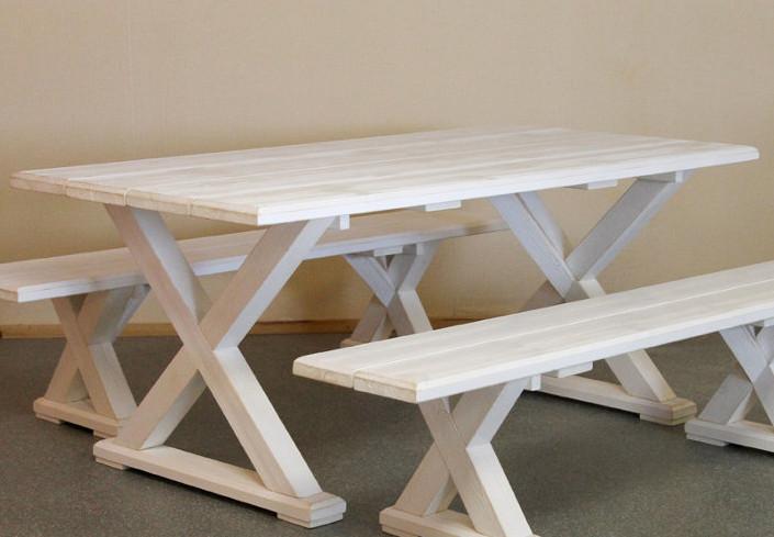 Vanamo ruokapöytä 180x92cm valkoinen