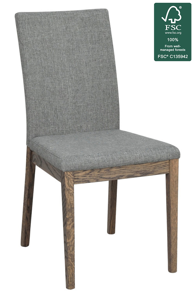 Narvik tuoli harmaa/ruskea, Rowico