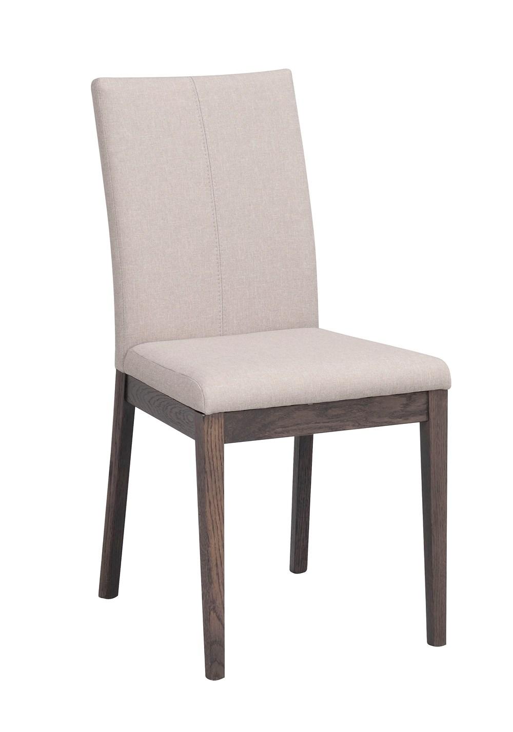 Amanda tuoli beige/tummanruskea, Rowico